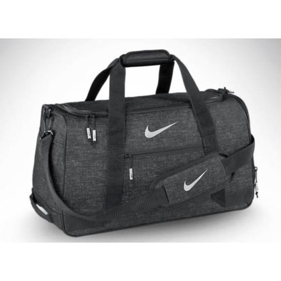 1dbee8c6c1 Nike Sport Duffle Golf Gym Bag - Heather Black